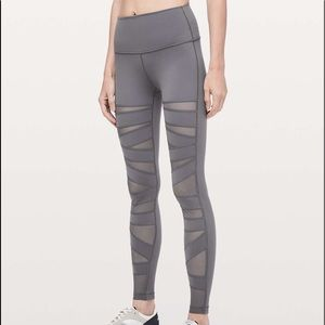 Lululemon high rise tech mesh wunder under!!